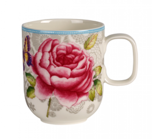 Lust Auf Porzellan Villeroy Boch Rose Cottage Becher Mit