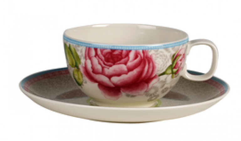 Lust Auf Porzellan Villeroy Boch Rose Cottage Teetasse Mit