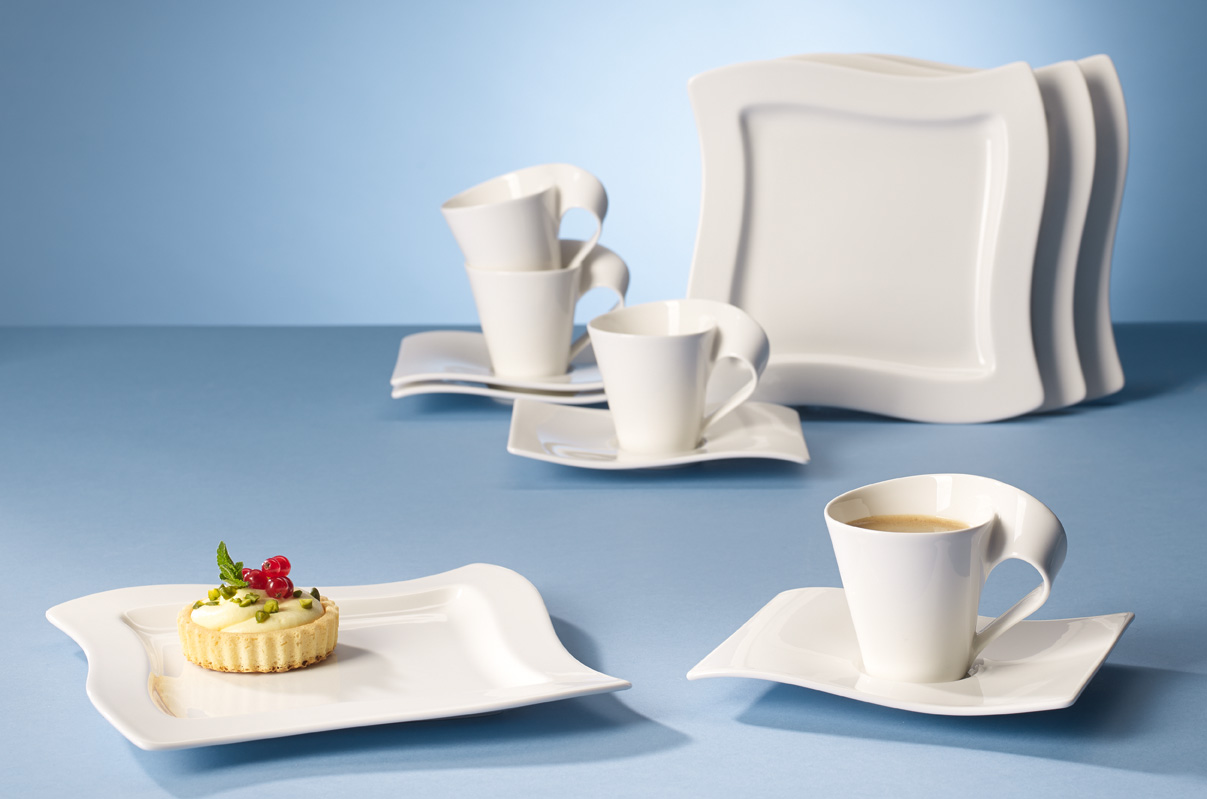 lust auf porzellan villeroy boch newwave kaffee set. Black Bedroom Furniture Sets. Home Design Ideas