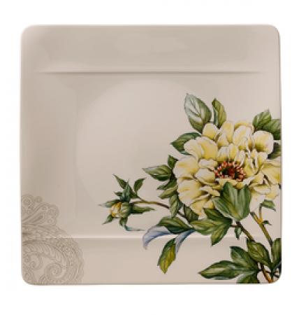Villeroy /& Boch  /'Quinsai Garden/' Speiseteller Motiv E 27x27 cm
