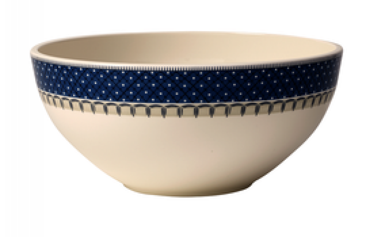 Premium Porzellan Wei/ß//Blau 24 cm Villeroy /& Boch Casale Blu Sch/üssel