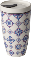 Villeroy & Boch, To Go Indigo, Coffee To Go Becher, 0,35l